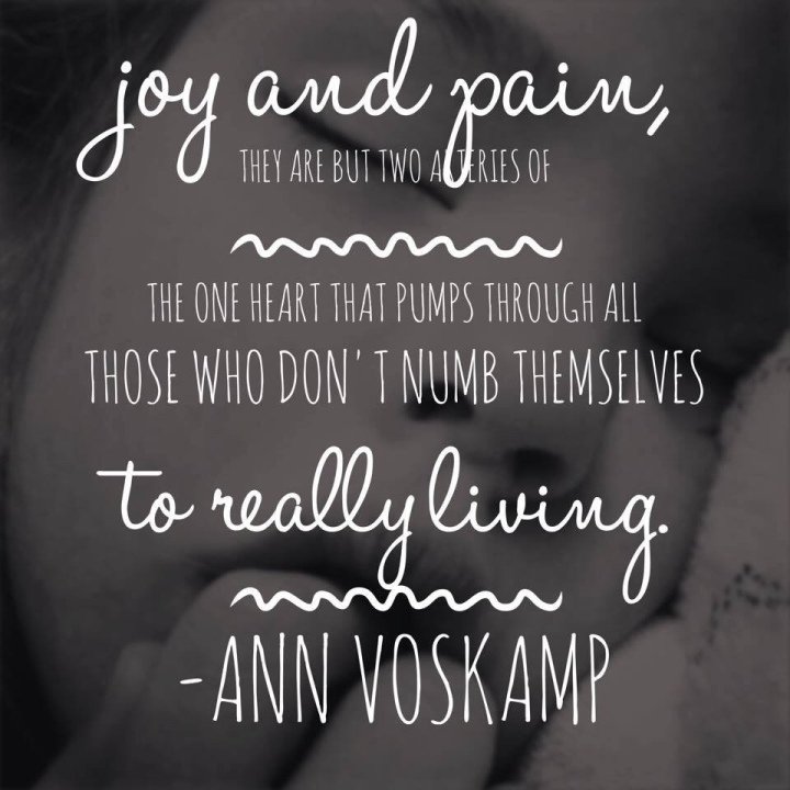 Joy and pain